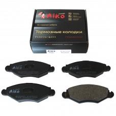 Тормозные колодки PEUGEOT 206 (2002-) передние